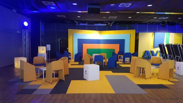 Il Palariccione è il miglior Convention Center brandizzable per Convention Aziendali nel settore bancario