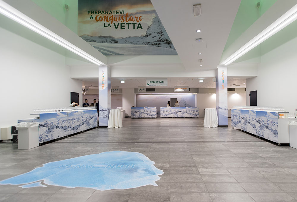 Il Palariccione come location d'eccellenza per i Congressi Aziendali.